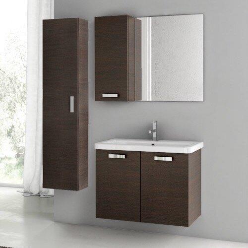 City Play 32 Single Bathroom Vanity Set with Mirror