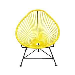 Canela Steel U0026 Vinyl Papasan Chair