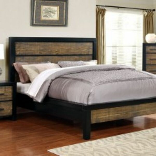 Wheeler Transitional Queen Platform Bed by Union Rustic