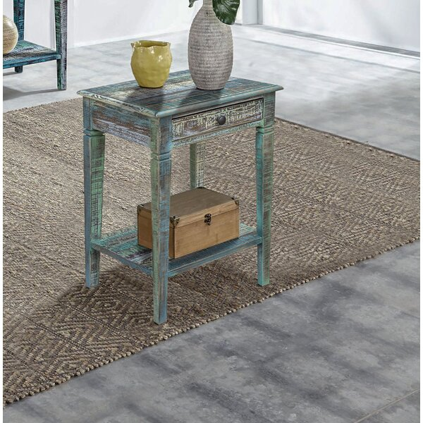 Malott End Table By Highland Dunes