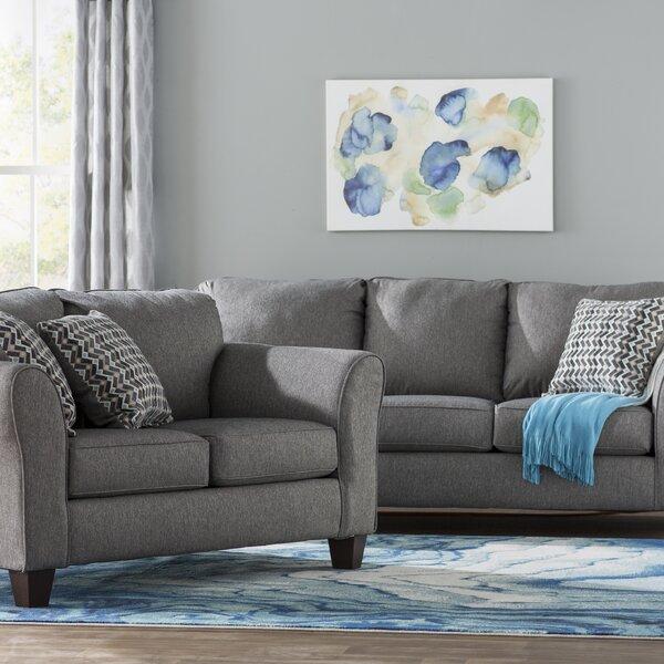 Fairmount 2 Piece Living Room Set by Ebern Designs