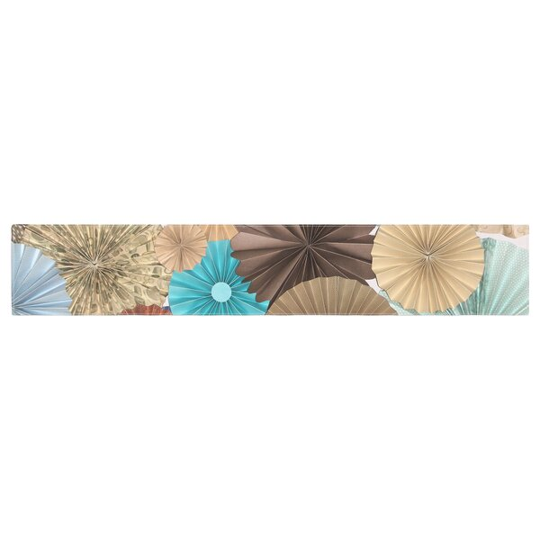 Heidi Jennings Day at the Beach Table Runner by East Urban Home