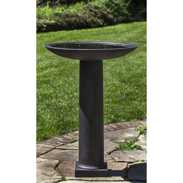 Metropolitan Birdbath by Campania International