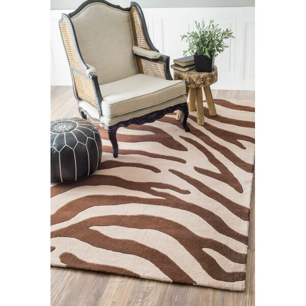 Earth Hand-Tufted Wool Brown/Beige Area Rug by nuLOOM