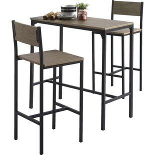 Bar tables sets wayfair delevan 3 piece bar table set watchthetrailerfo