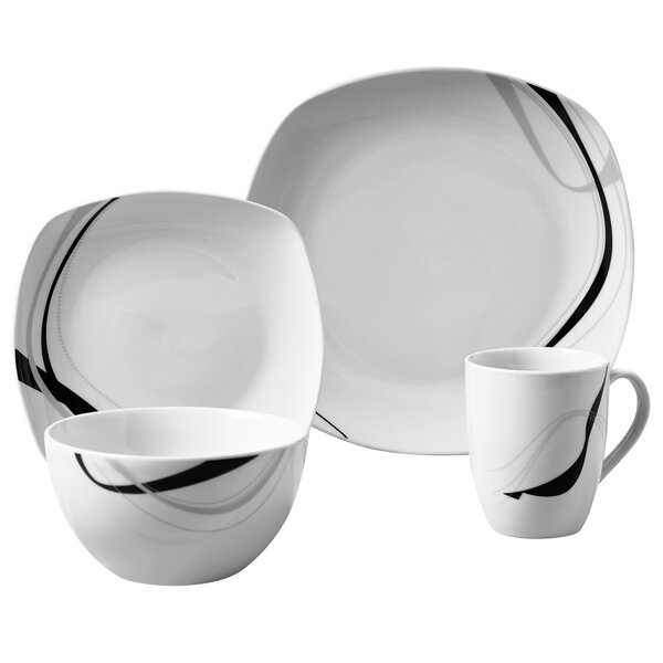 Ranieri 16 Piece Dinnerware Set, Service for 4 by Wrought Studio
