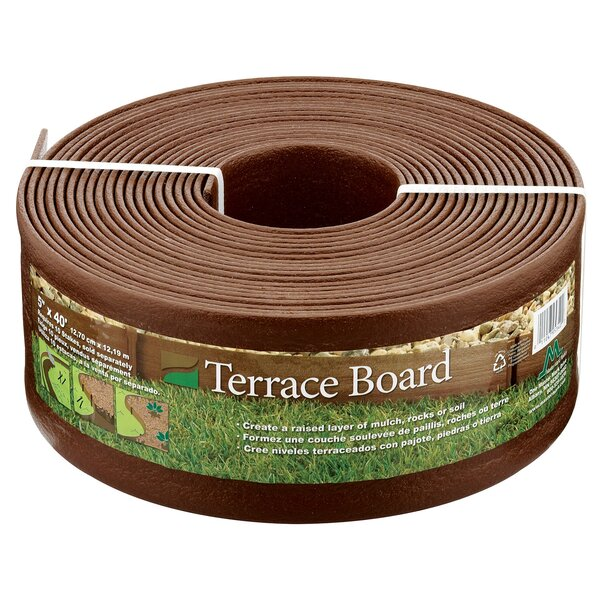 Terrace Board Edging by Master Mark Plastics