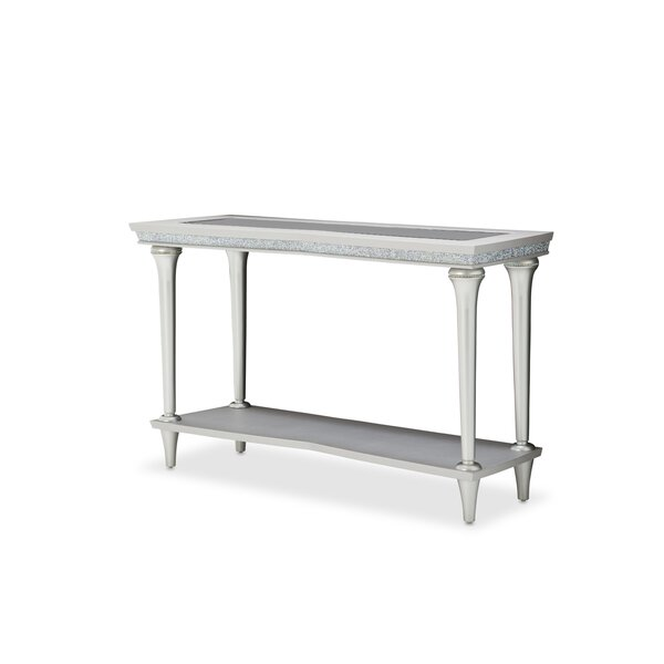 Melrose Plaza Console Table By Michael Amini