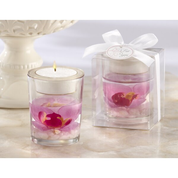 Elegant Orchid Tealight Holder (Set of 10) by Ebern Designs