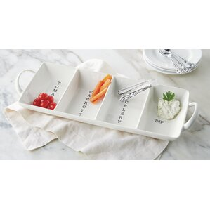 Nicoline 2-Piece Divided Serving Dish Set