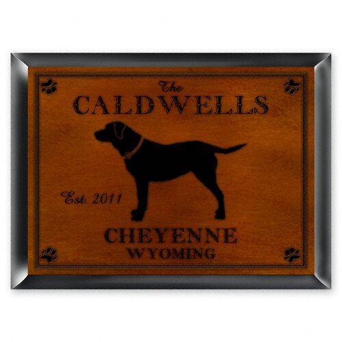 Personalized Gift Cabin Series Traditional Framed Graphic Art by JDS Personalized Gifts