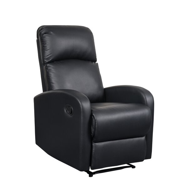 Modern Home Slim Design Manual Recliner by Artiva USA