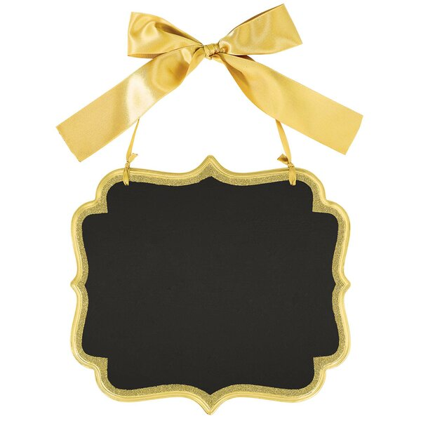 Glitter Marquee Wall Mounted Chalkboard by Amscan