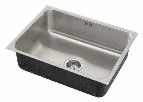 18 L x 16 W x 10.5 Single Bowl Undermount Kitchen Sink by Just Manufacturing