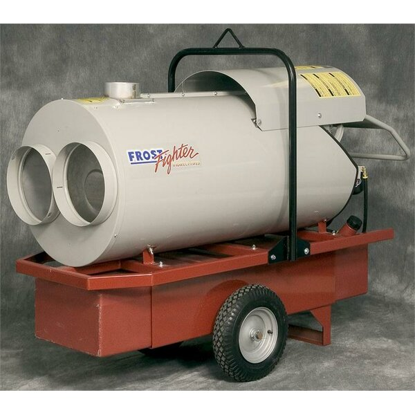 420,000 BTU Portable Oil Forced Air Utility Heater by Frost Fighter
