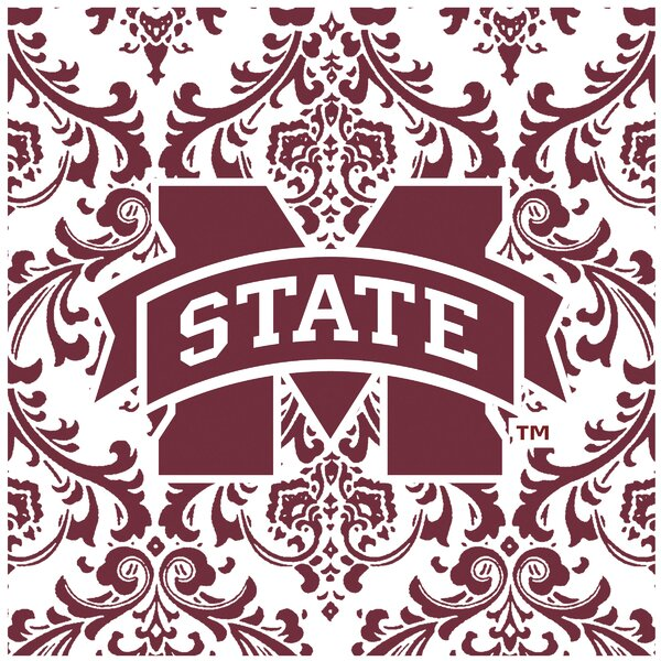Mississippi State University Square Occasions Trivet by Thirstystone