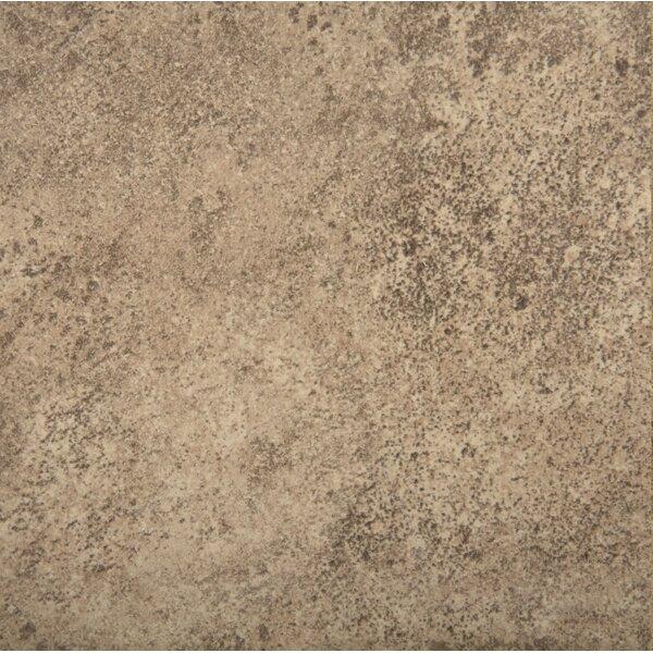 Toledo 7 x 7 Ceramic Metal Look Field Tile in Noce by Emser Tile
