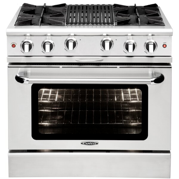 Culinarian Series 36 4.9 cu. ft. Freestanding Gas with Grill