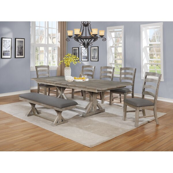 Ricki 7 Piece Dining Set by Canora Grey