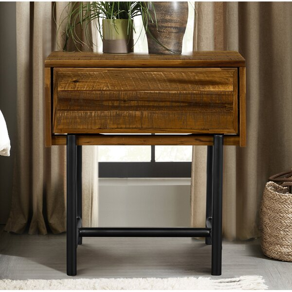 Torney 1 Drawer Nightstand by 17 Stories