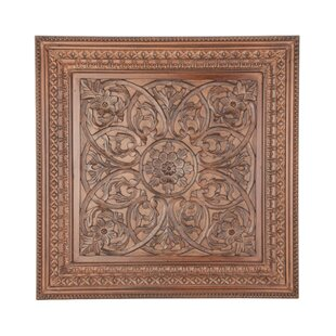 Traditional Carved Wood Wall Decor