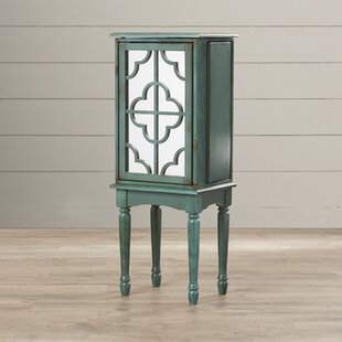 Best Deals Wissem Jewelry Armoire with Mirror By Lark Manor