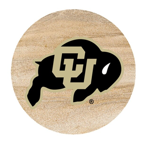 University of Colorado Collegiate Coaster (Set of 4) by Thirstystone