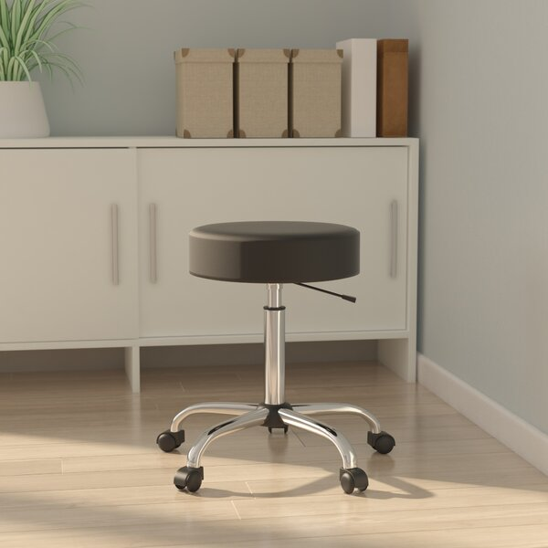 Kathie Height Adjustable Medical Stool by Symple Stuff