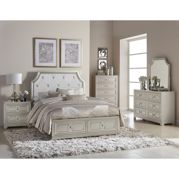 Eldridge Platform Configurable Bedroom Set by House of Hampton