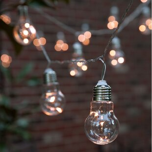 Best Reviews 10-Light Globe String Lights By The Gerson Companies