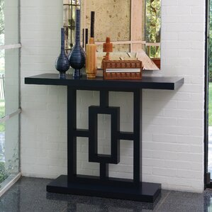 Grid Block Console Table by Gl..