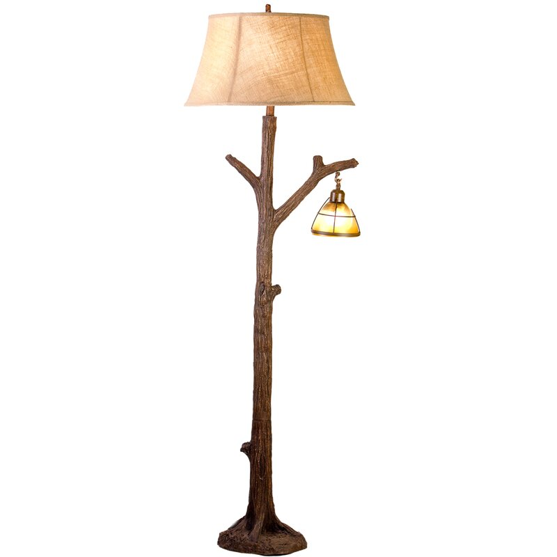 """Millwood Pines Finley Tree 64"""" Tree Floor Lamp & Reviews"""