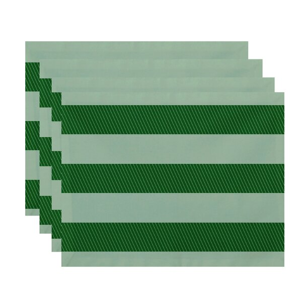 Goddard Stripes Placemat (Set of 4) by Breakwater Bay