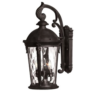 Best Reviews Windsor 3-Light Outdoor Wall Lantern By Hinkley Lighting