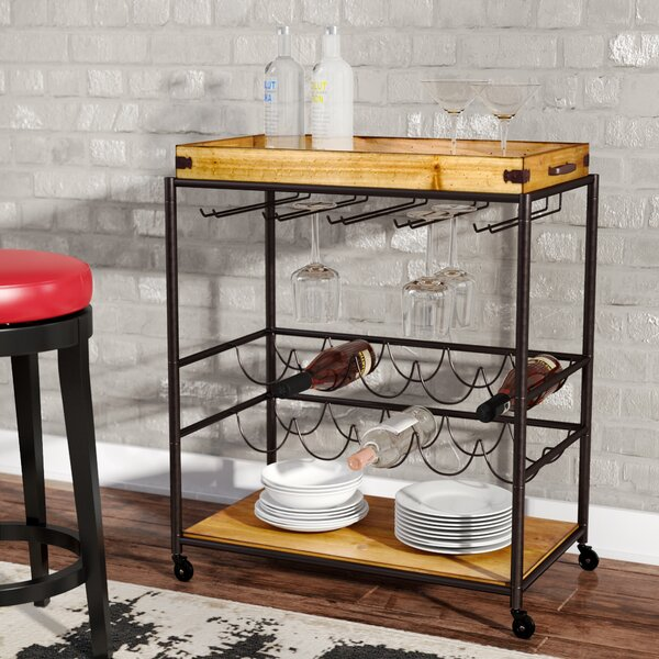 Kahnah Bar Cart By Trent Austin Design.