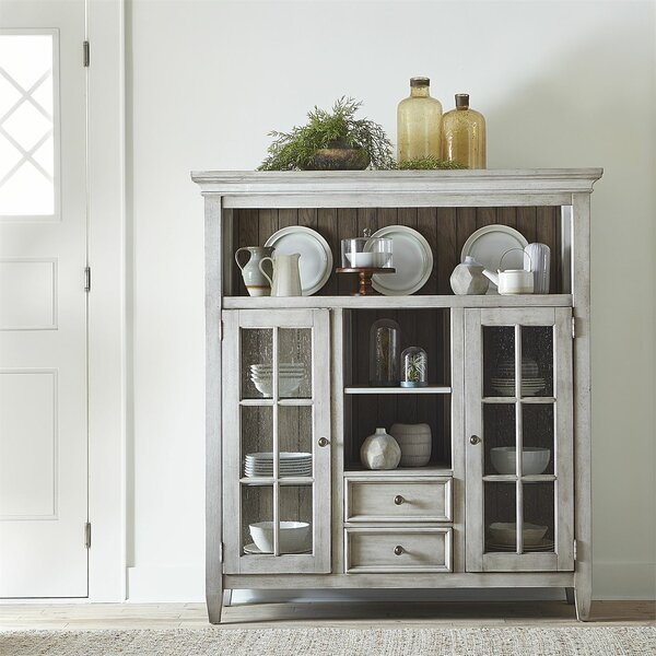 China Cabinet by Feminine French Country Feminine French Country