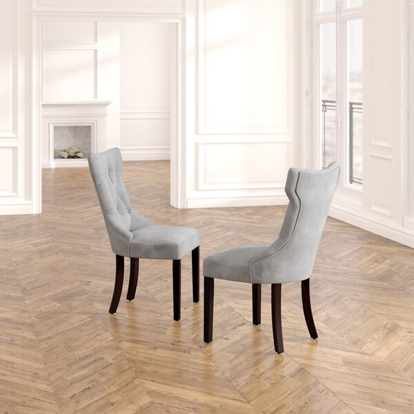 Caravilla Tufted Upholstered Side Chair (Set Of 2) By Willa Arlo Interiors