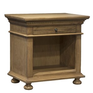 Marcello Open 1 Drawer Nightstand by One Allium Way