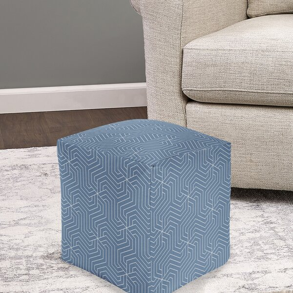 Pitzer Pouf by Wrought Studio