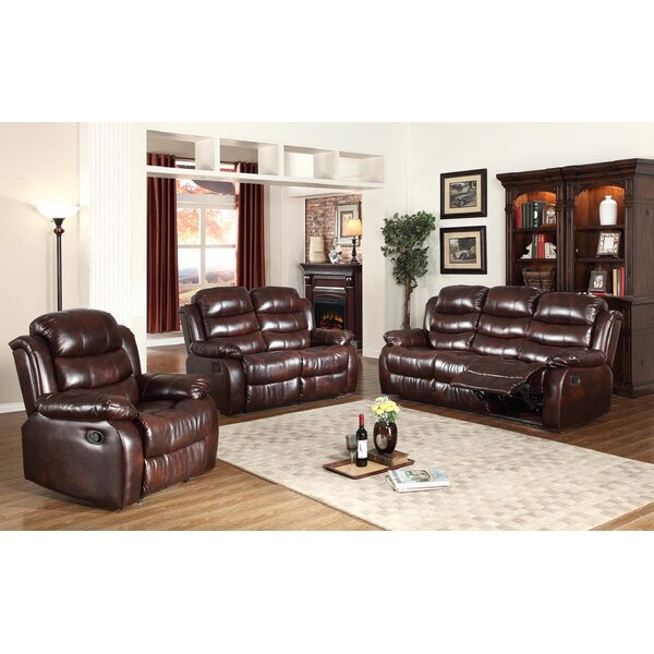 Palos 3 Piece Reclining Living Room Set by Red Barrel Studio