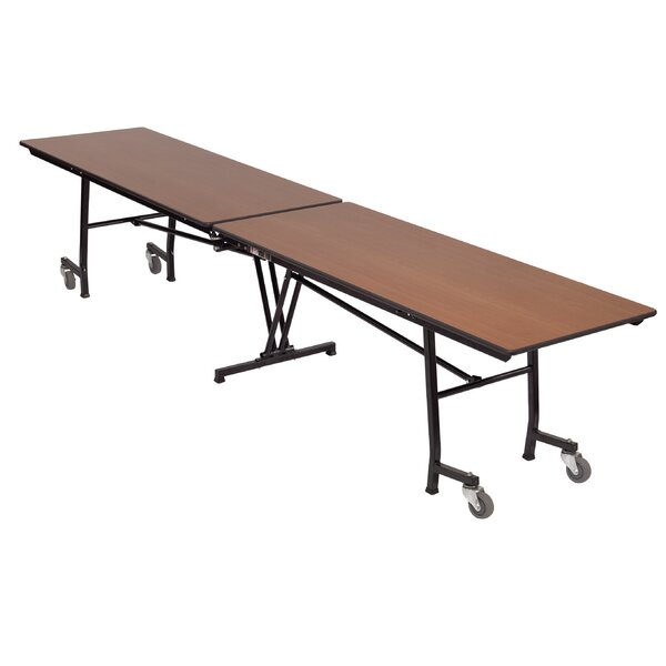 Rectangular Folding Table by AmTab Manufacturing Corporation