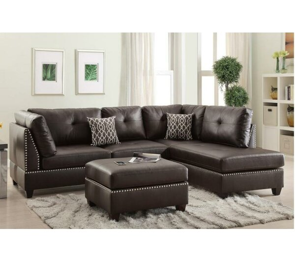 Mario Sectional with ottoman by A&J Homes Studio