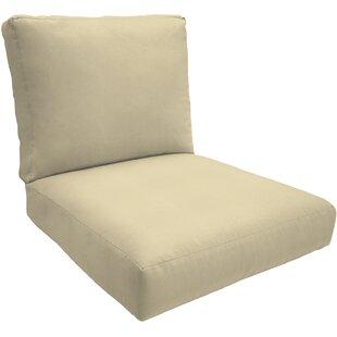 Indoor/Outdoor Sunbrella Contour Dining Chair Cushion