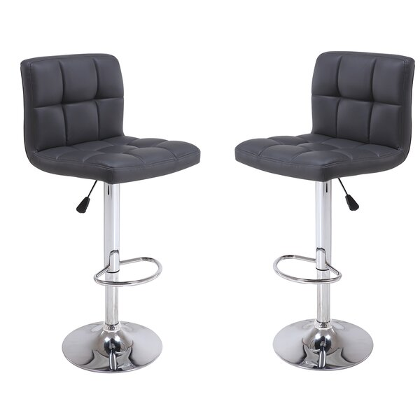 Adjustable Height Bar Stool (Set of 2) by Vogue Furniture Direct