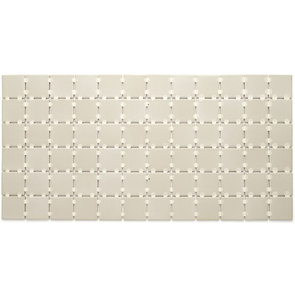 Dalton 12 x 24 Porcelain Mosaic Tile in Urban Putty by Itona Tile