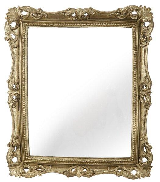 Biermann Rectangle Gold Framed Wall Mirror by Astoria Grand