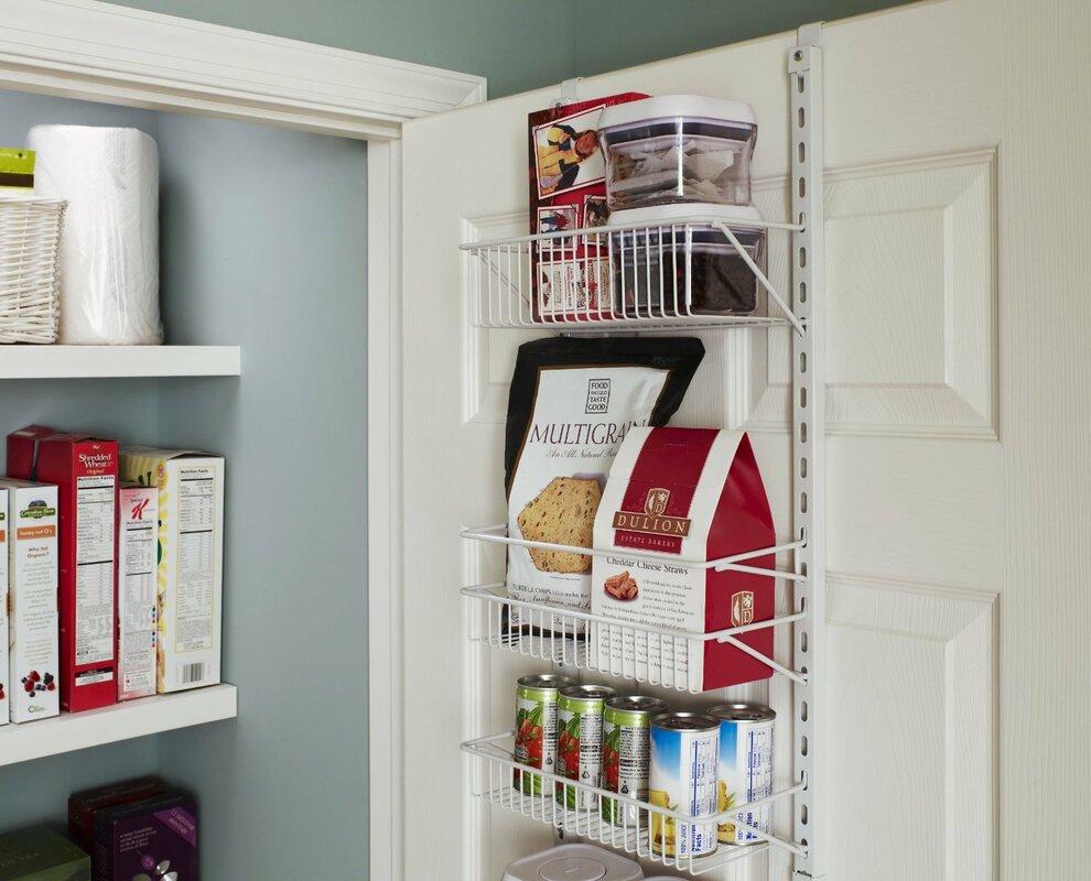 8-Tier Adjustable Cabinet Door Organizer & ClosetMaid 8-Tier Adjustable Cabinet Door Organizer \u0026 Reviews ...