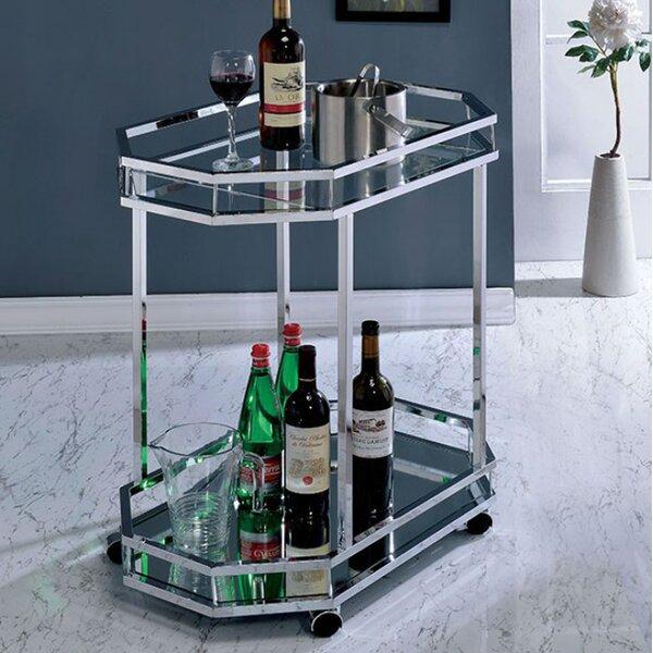 Graef Contemporary Bar Cart by Latitude Run
