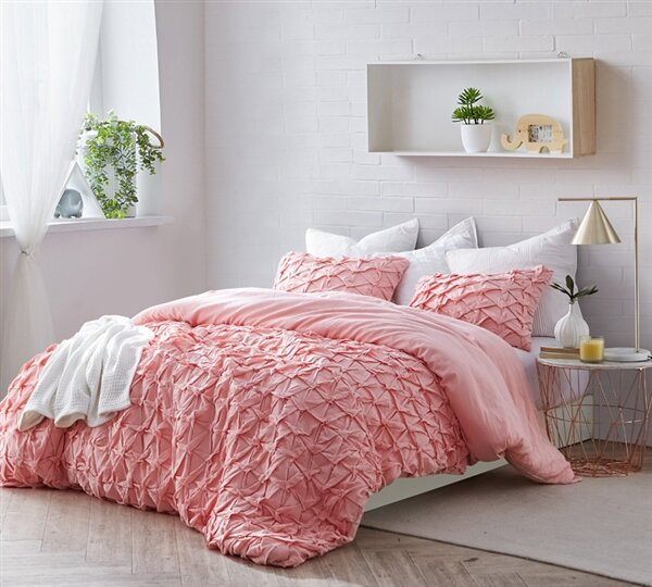 Francisco Layered Pleat Bedding by House of Hampton