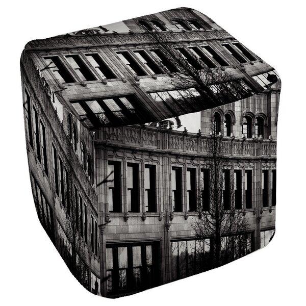 Urban Façade Pouf by Manual Woodworkers & Weavers